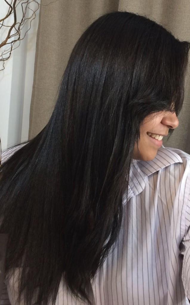 meu cabelo após 15 dias de uso
